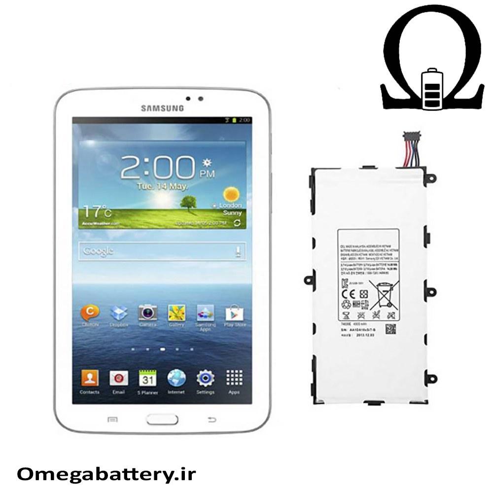 تصویر باتری تبلت سامسونگ Tab 3 7.0 Wifi با کدفنی T4000E Battery T4000E For Tablet Samsung Tab 3 7 Inch Wifi