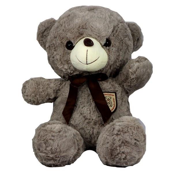 عروسک پولیشی خرس طوسی
