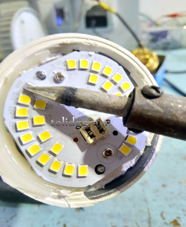 مقاله تعمیرات لامپ های LED
