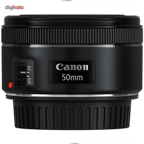 img لنز کانن Canon EF 50mm f/1.8 STM لنز نرمال کانن Canon EF 50mm f/1.8 STM Lens  - گارانتی ایده آل