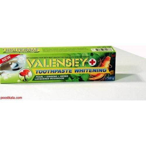 خمیر دندان سفید کننده و جرم گیر والنسی VALENSEY | Valensey Whitening Toothpaste 100g