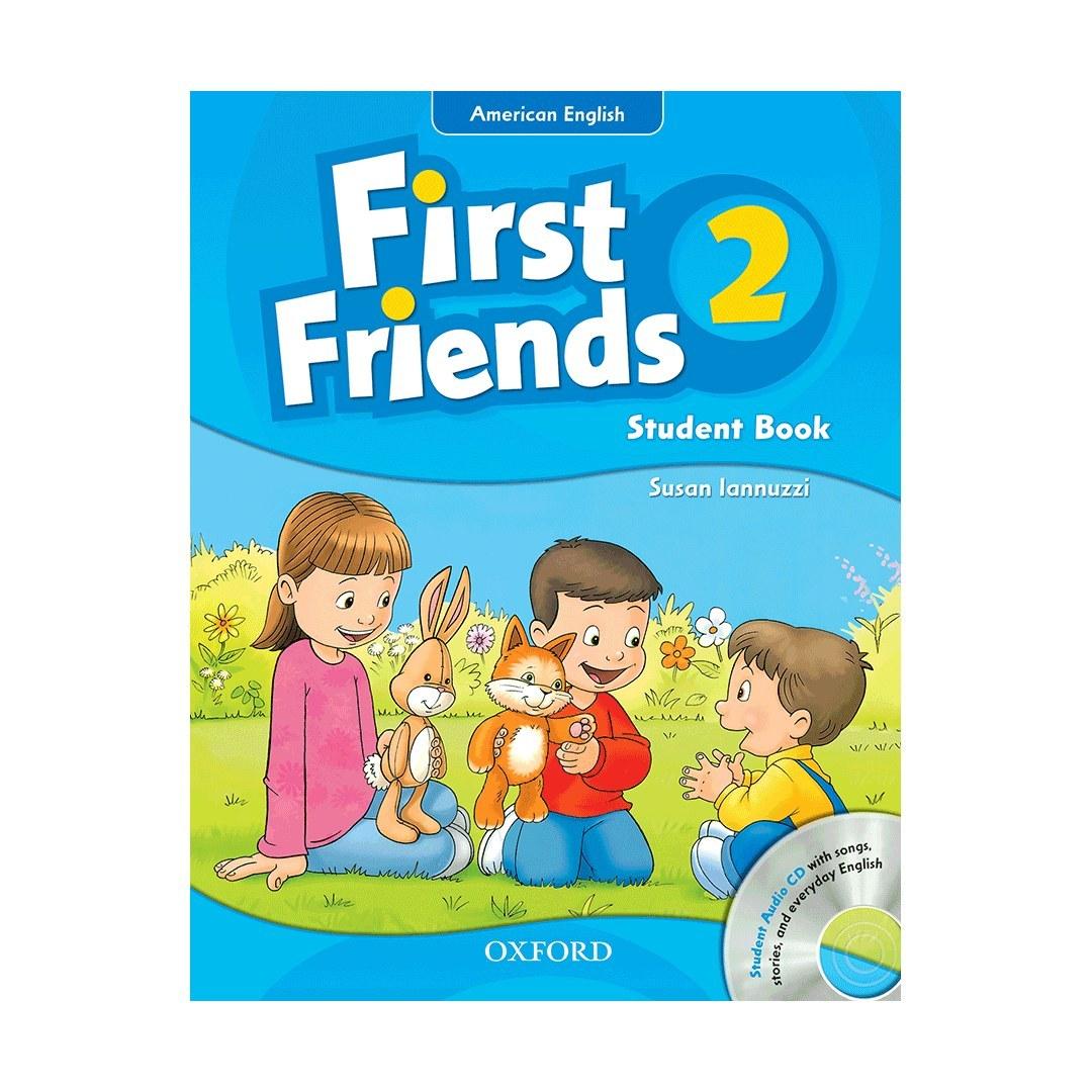 تصویر First Friends 2+Work book+CD کتاب فرست فرندز 2 همراه با کتاب کار و سی دی