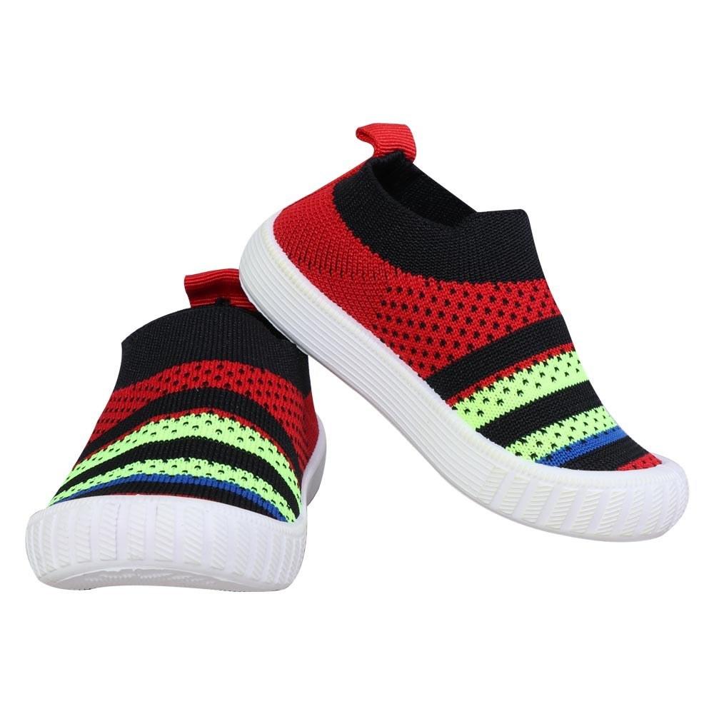 تصویر کفش بچه گانه جورابی ونس قرمز