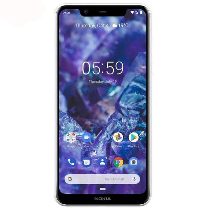 عکس گوشی موبایل نوکیا 5.1 Plus دو سیم کارت ظرفیت 64 گیگابایت Nokia 5.1 Plus LTE Dual SIM Smartphone - 64GB گوشی-موبایل-نوکیا-51-plus-دو-سیم-کارت-ظرفیت-64-گیگابایت