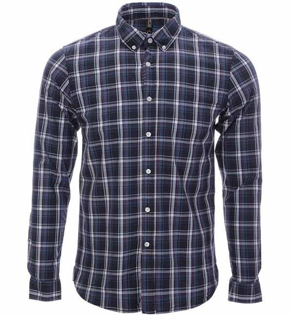 پیراهن چهارخانه مردانه جوتی جینز