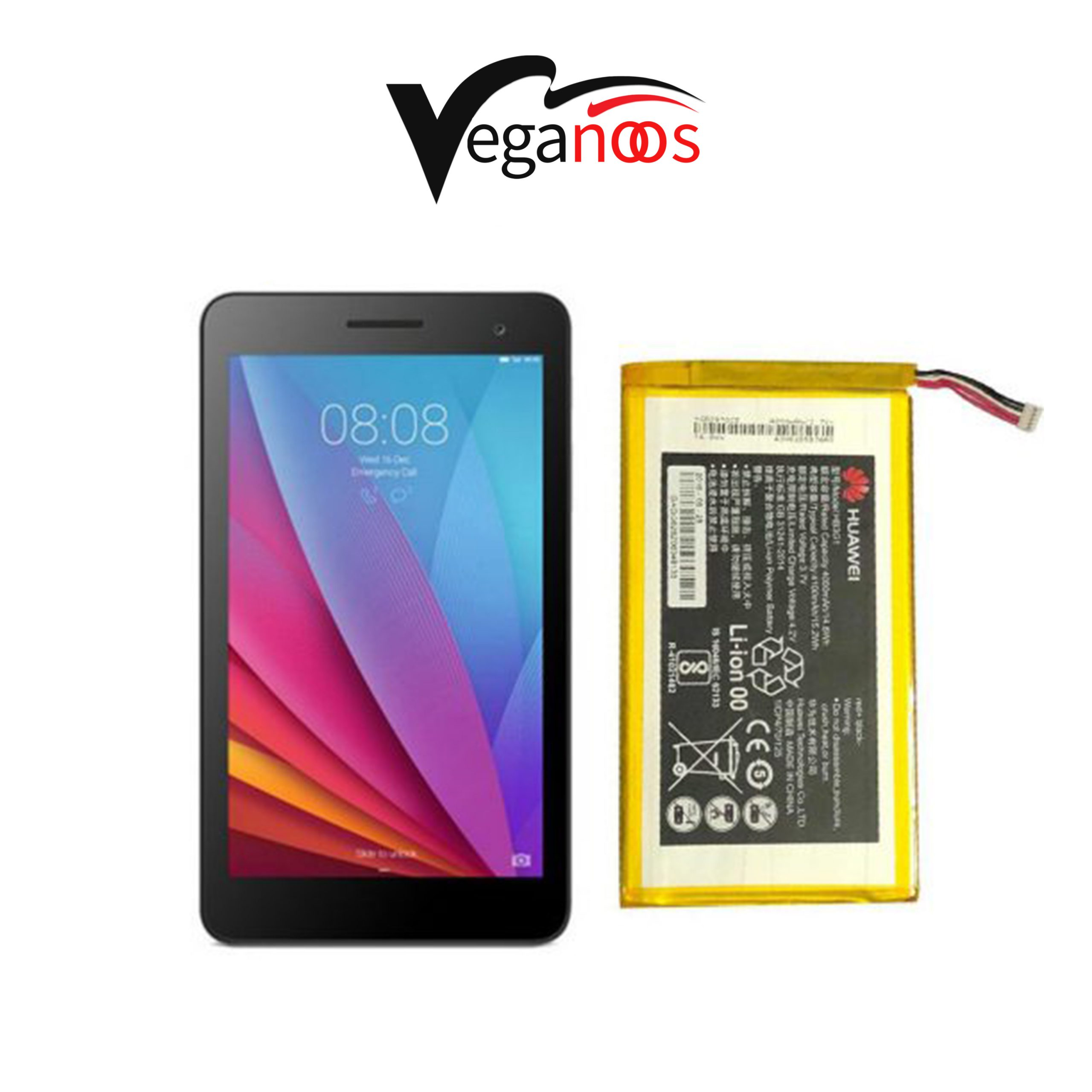 تصویر باتری اصلی تبلت هوآوی Huawei Mediapad S7 Battery Tablet Huawei Mediapad S7 - HB3G1H