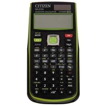 تصویر ماشین حساب سیتیزن مدل SR-270XGR Citizen SR-270XGR Calculator
