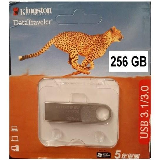 تصویر فلش 256 گیگ کینگ استون گارانتی مادام العمر USB3