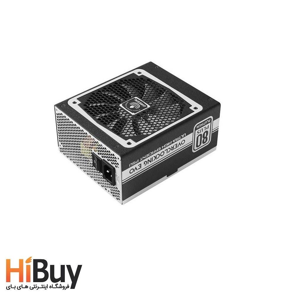 تصویر منبع تغذیه ماژولار گرین مدل GP850B-OC Plus Green GP850B-OC Plus Modular Computer Power Supply