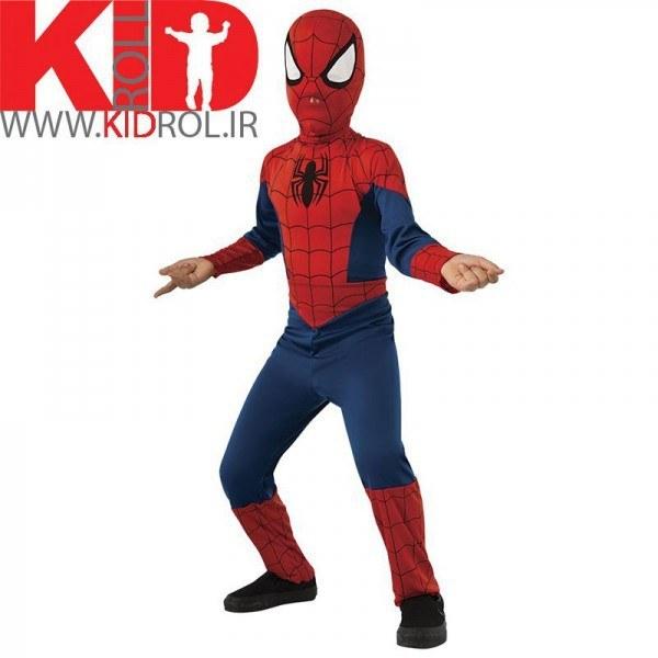 تصویر لباس مرد عنکبوتی سرهمی