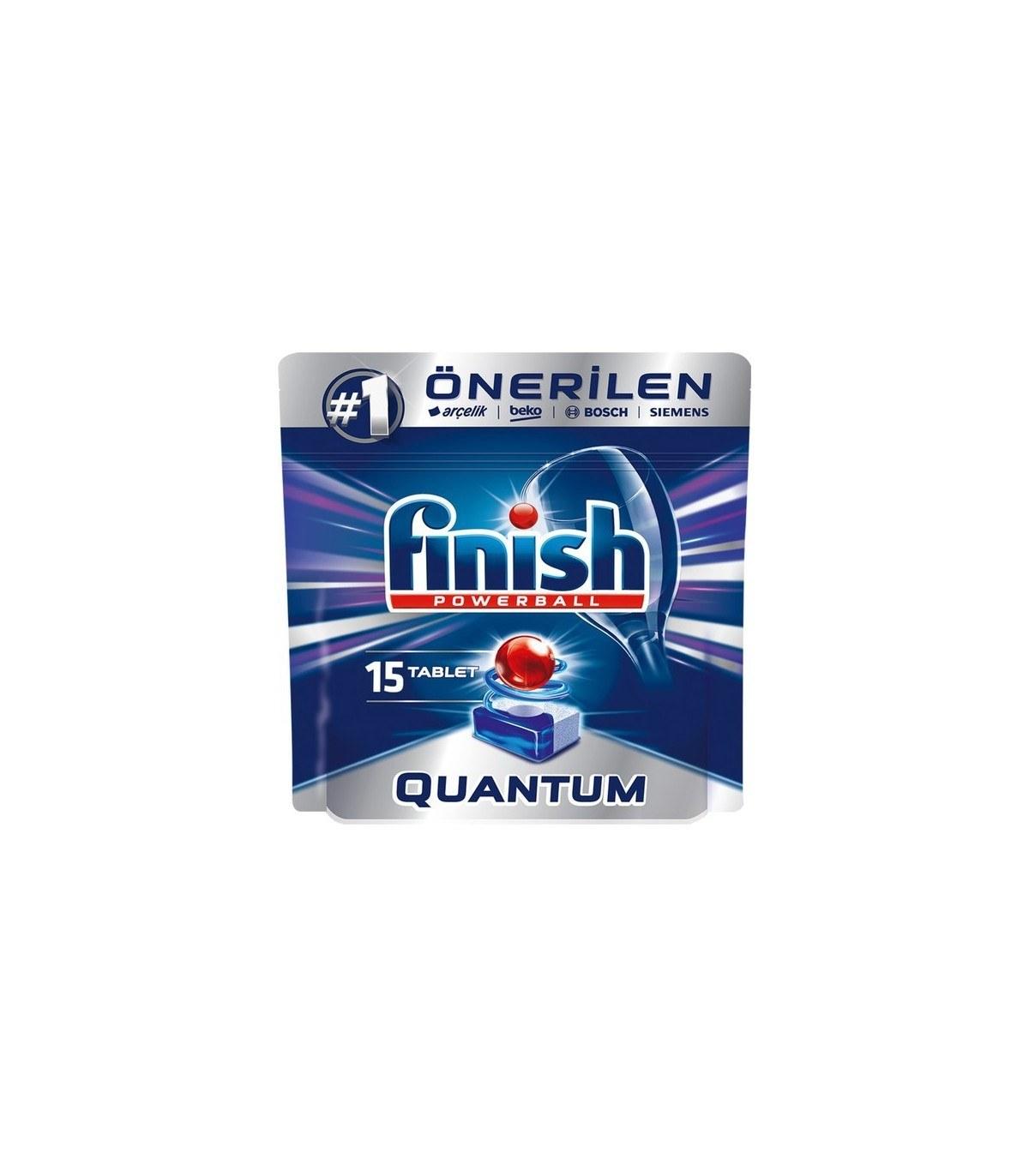 تصویر FINISH قرص ماشین ظرفشویی کوآنتوم ۱۵ عددی فینیش
