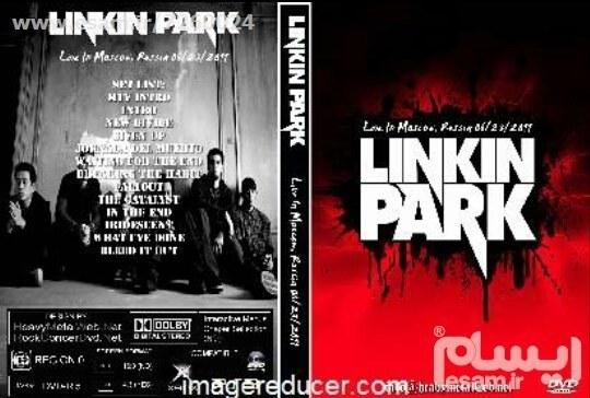 یک حلقه DVD تصویری قابدار - کپی از اوریجینال | Linkin Park - Collection