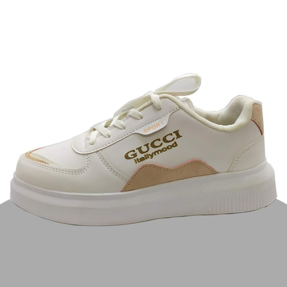 تصویر کفش اسپرت زنانه Gucci مدل 20943 سفید