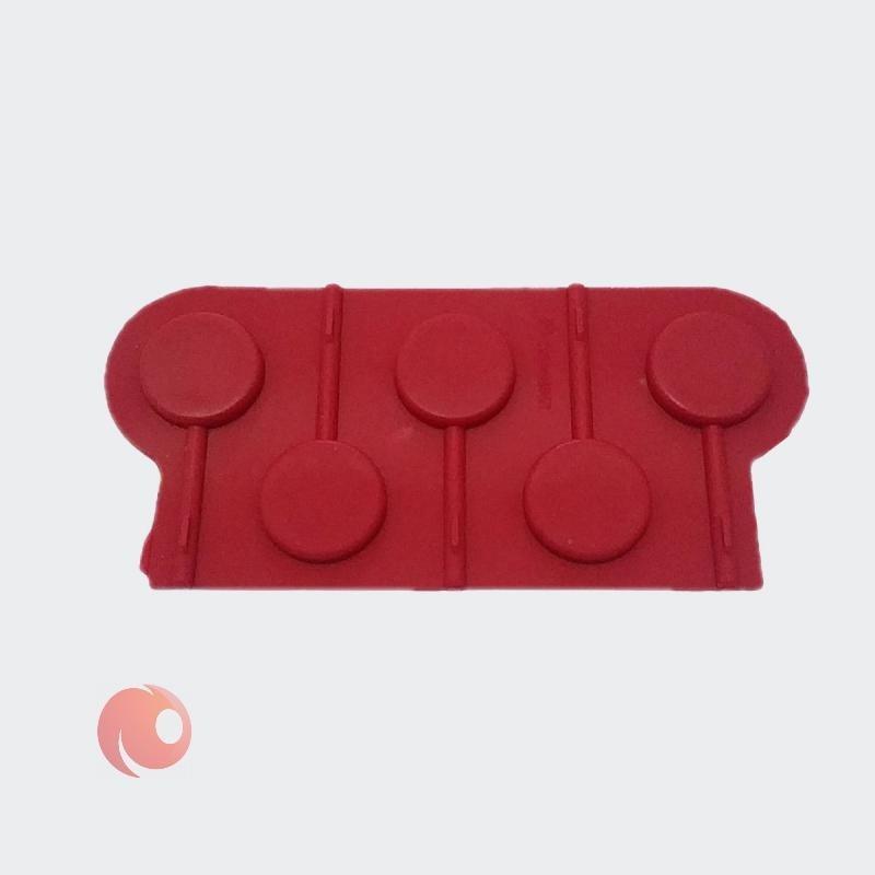 تصویر قالب شکلات مدل آبنبات کد 13