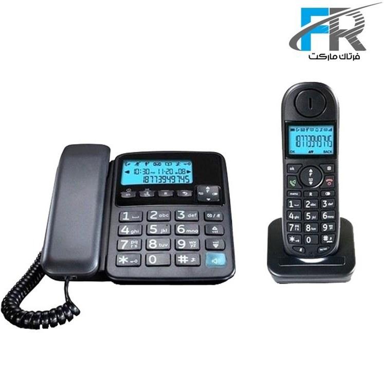 main images گوشی تلفن بی سیم یونیدن مدل AT4501 Uniden AT4501 Combo Corded & Cordless Phone