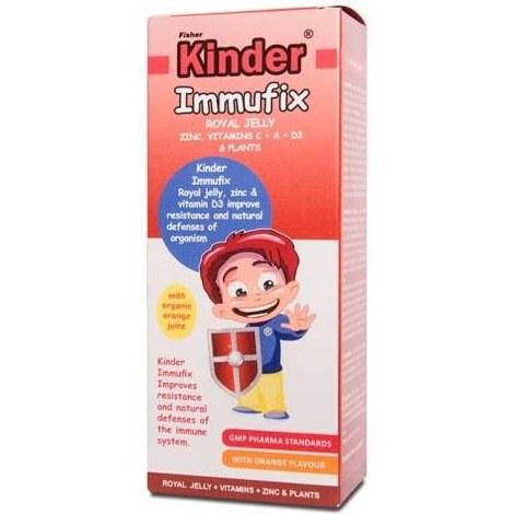 فیشر کیندر شربت 150 میلی لیتر ایموفیکس | Fisher Kinder syrup 150 ml Immufix