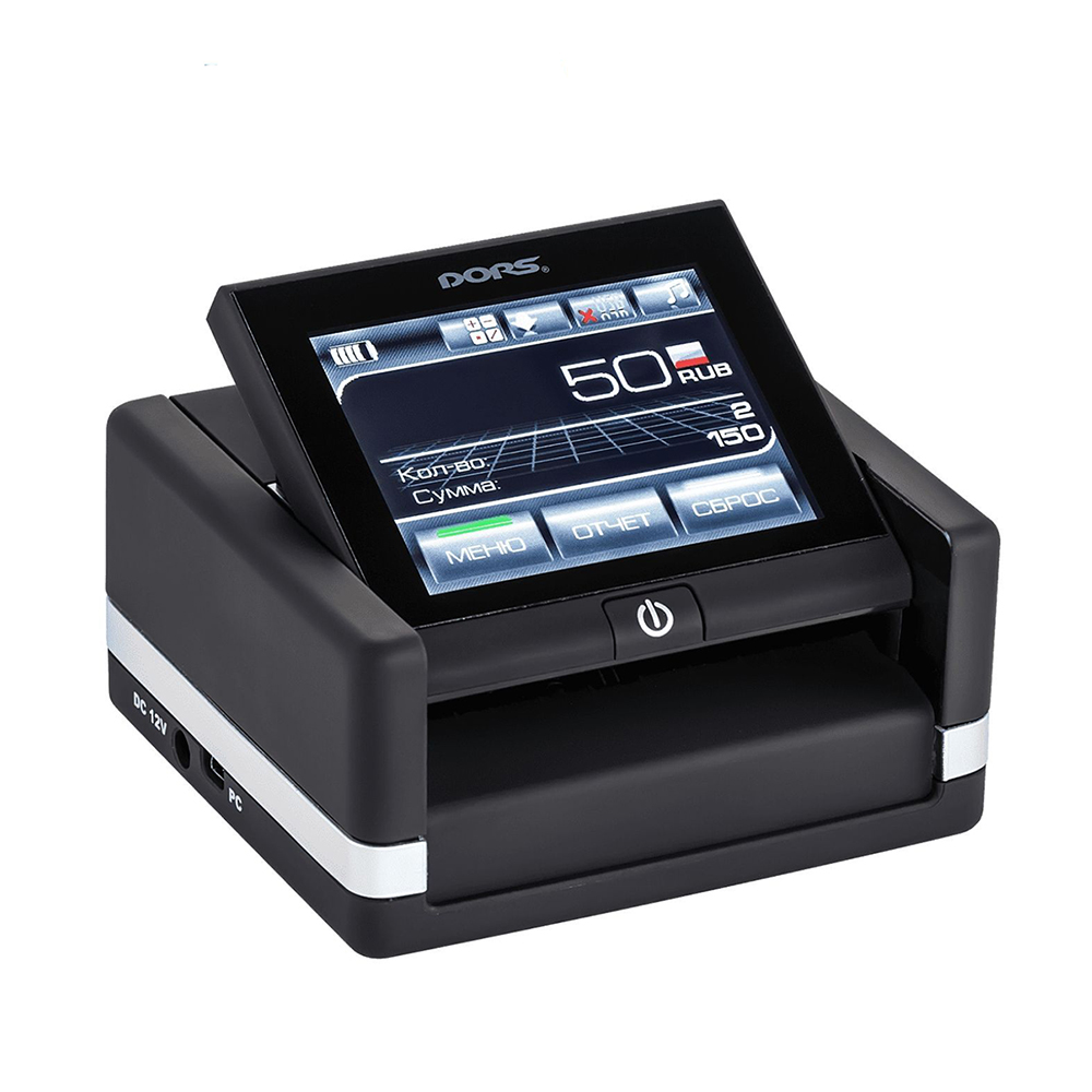 تصویر دستگاه تشخیص اسکناس DORS 230 ا DORS 230 Multicurrency automatic detector DORS 230 Multicurrency automatic detector