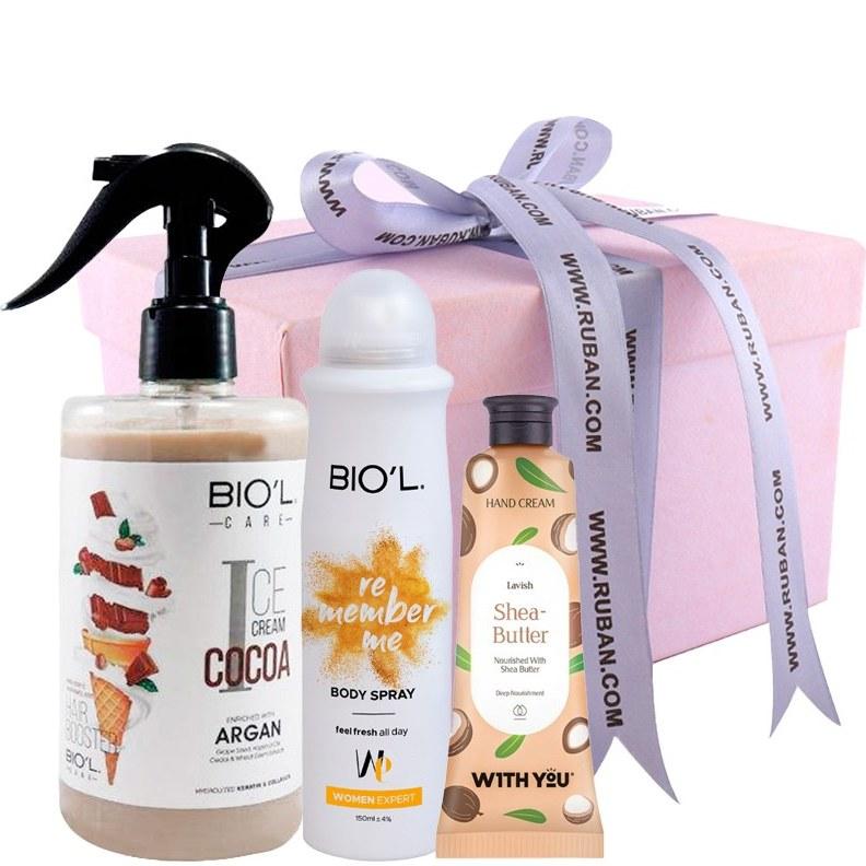 تصویر پک کادویی شکلاتی بیول Biol Gift Pack