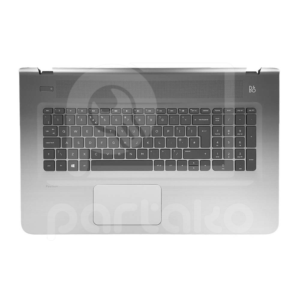 تصویر قاب و کیبورد لپ تاپ اچ پی Hp Pavilion 17-G Keyboard Laptop Hp Pavilion 17-G With Case C | 809303-001