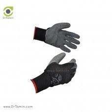 دستکش بافته شده با روکش لاتکس ضدبرش استادکار