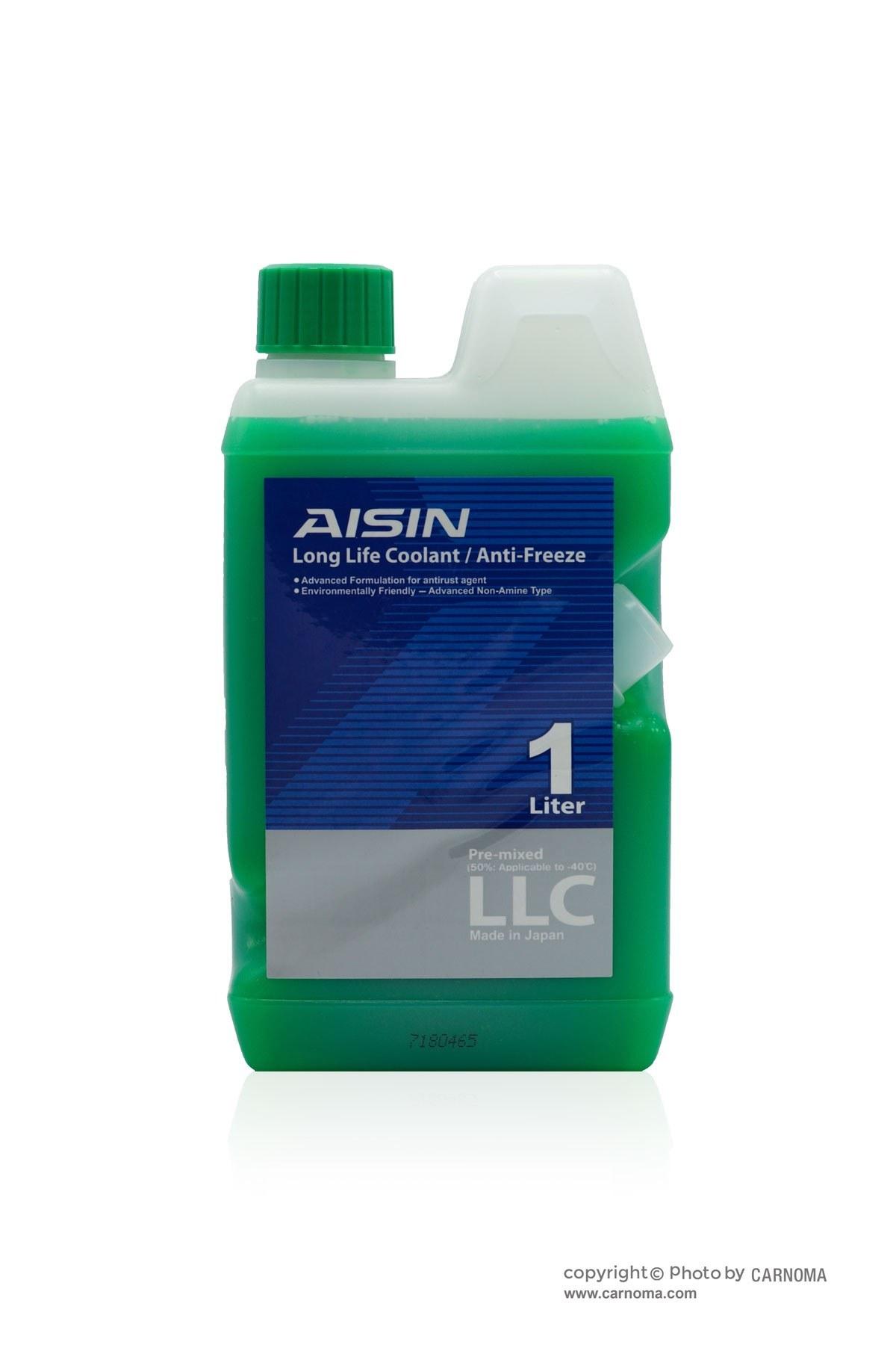 تصویر کولانت/ضدیخ آیسین(سبز) حجم یک لیتر Aisin Coolant/Antifreeze Green 1Lit