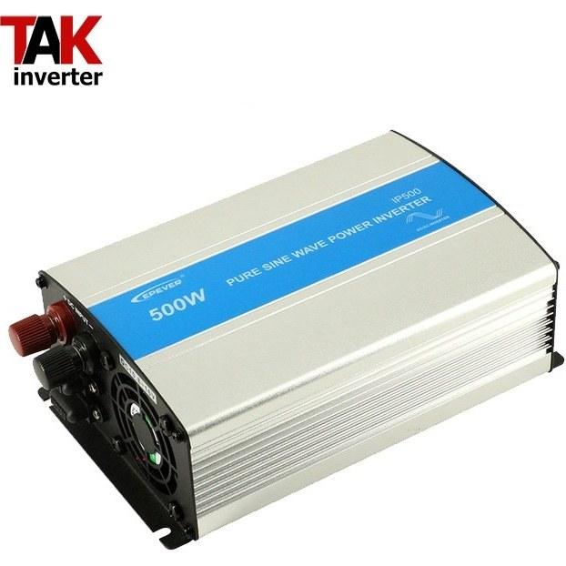 تصویر اینورتر خورشیدی 500 وات سینوسی 12 ولت به 220 ولت EPever ipower inverter solar 500 watt pure sine wave EPever IPOWER series