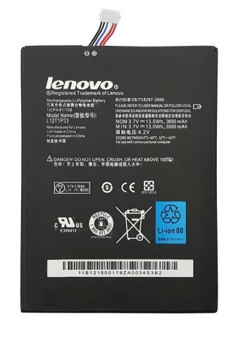 main images باتری تبلت لنوو مدل L12D-1P31 مناسب برای IdeaTab A5000-A1000-A3300