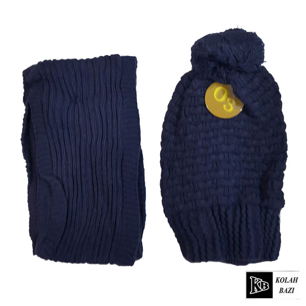 main images شال و کلاه بافت مدل shk69 Textured scarf and hat shk69