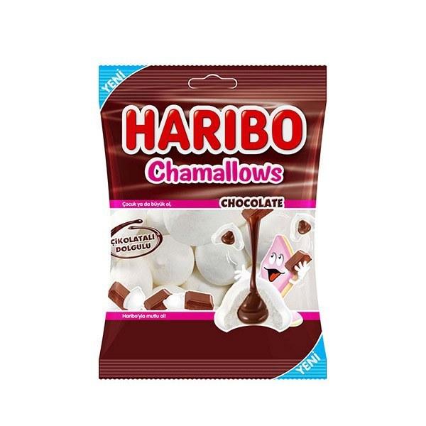 تصویر مارشملو هاریبو Chocolate وزن 62 گرم