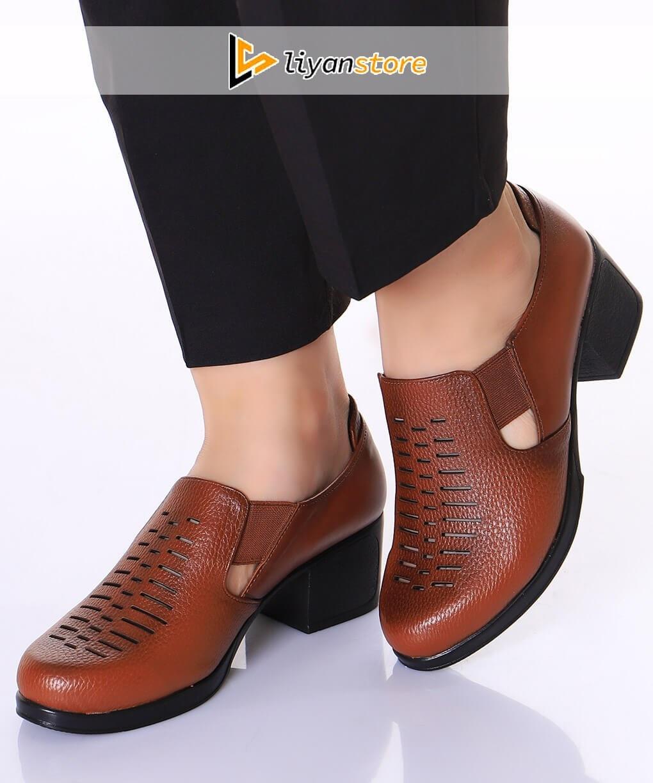 کفش راحتی و اداری زنانه بغل کشی – r64