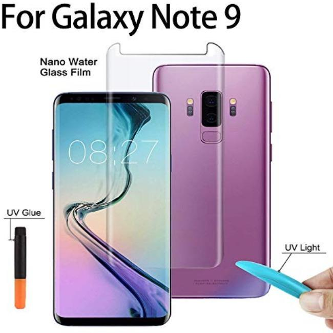 UV Curve Glass Samsung Galaxy Note 9 | گلس خم UV سامسونگ UV Curve Glass Samsung Galaxy Note 9