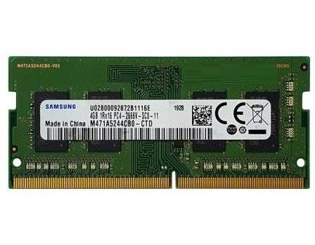 عکس رم لپ تاپ سامسونگ با حافظه ۴ گیگابایت و فرکانس ۲۶۶۶ مگاهرتز SAMSUNG DDR4 4GB 2666Mhz 1.2V Laptop Memory رم-لپ-تاپ-سامسونگ-با-حافظه-4-گیگابایت-و-فرکانس-2666-مگاهرتز