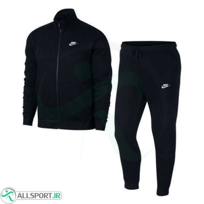 گرمکن شلوار نایک Nike Fleece Tracksuit Set In Black 928125-010