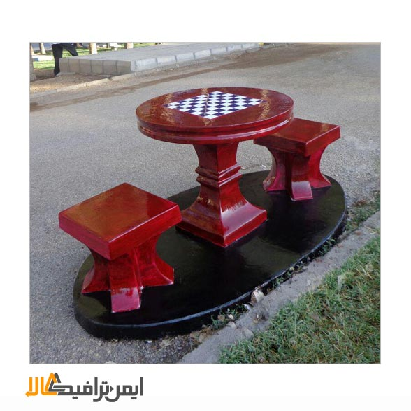 تصویر میز شطرنج بتنی IT-160