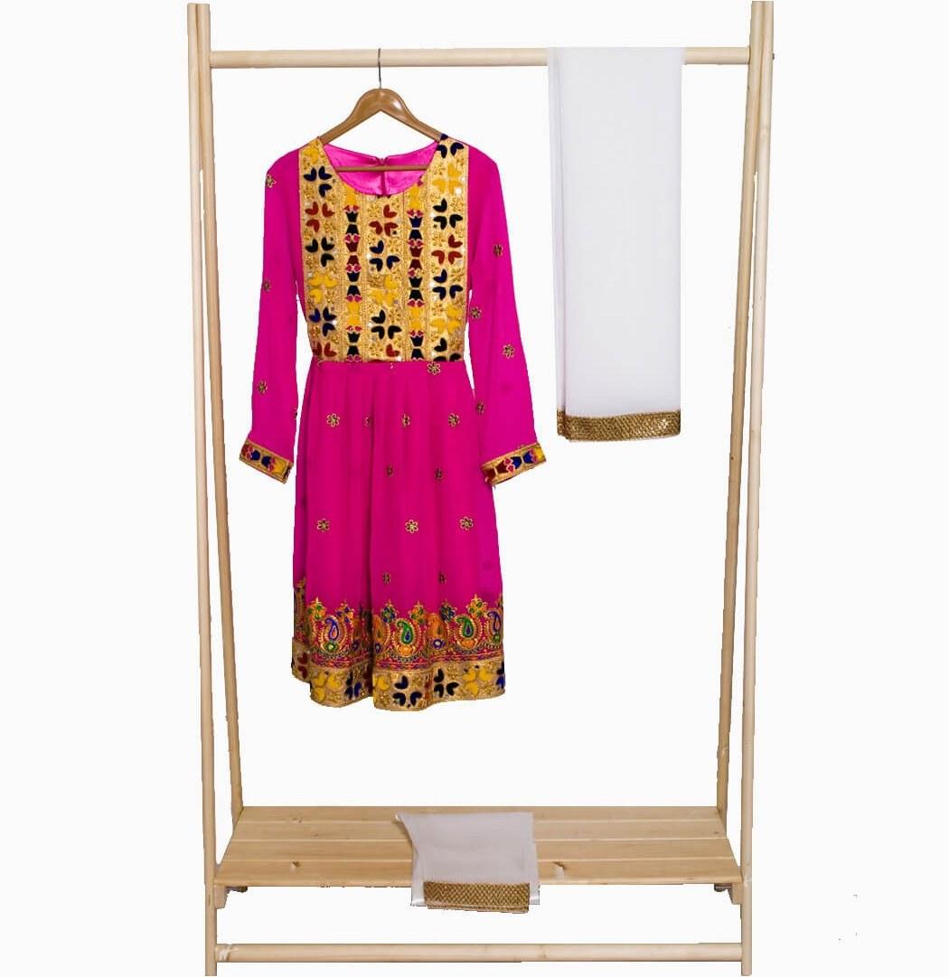 تصویر لباس گند افغانی کد KH-01024