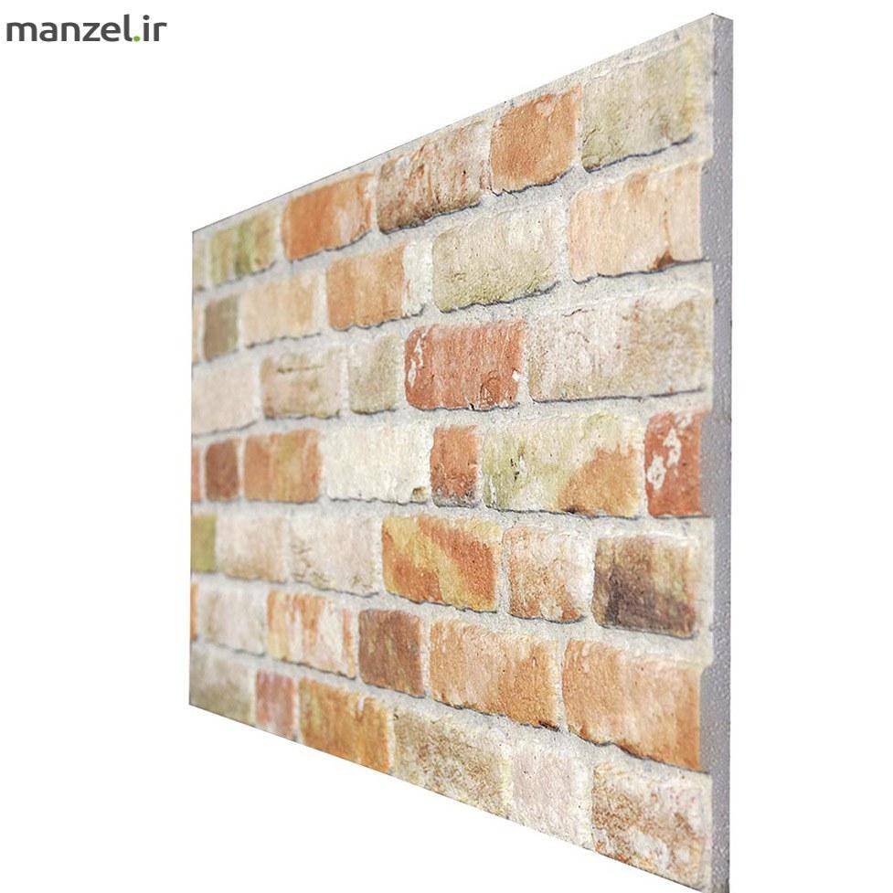 تصویر دیوار پوش طرح آجر کد 204-651