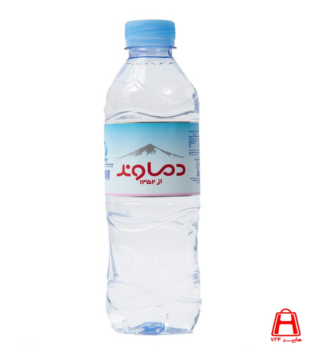 تصویر آب معدنی 500 میلیلیتر دماوند
