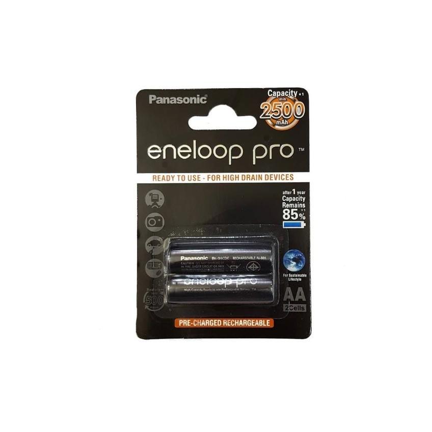 باتری قلمی قابل شارژ پاناسونیک مدل Eneloop Pro – بسته 2 عددی