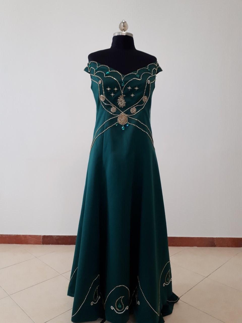 لباس نامزدی-مجلسی مدل ترمه