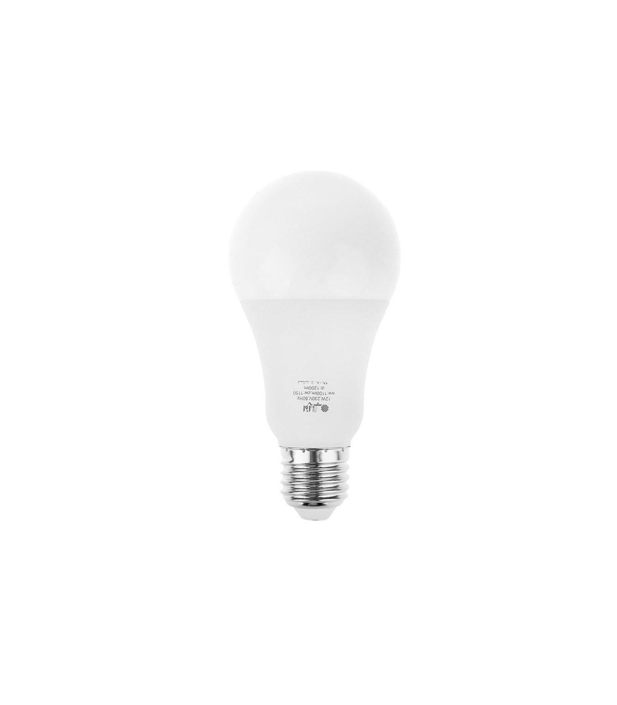 تصویر لامپ ال ای دی 12 وات افراتاب مدل AF-G65-12W پایه E27 LED 12W E27 AFRATAB