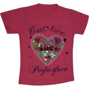 تی شرت دخترانه مدل hart کد T9