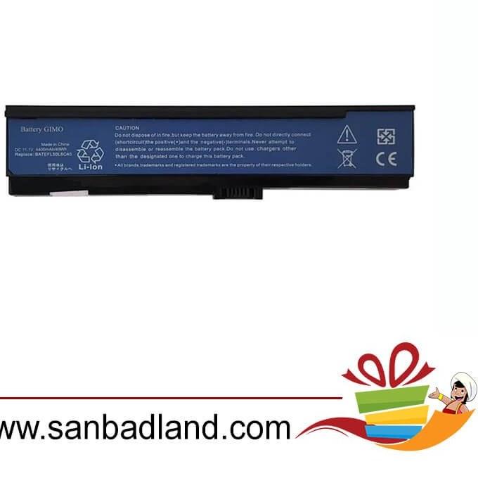 تصویر باتری ۶ سلولی لپ تاپ ایسر Acer Aspire 3600