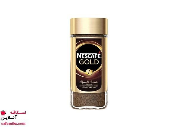 تصویر قهوه فوری نسکافه گلد – 100 گرم Nescafe Gold Instant Coffee 100gr