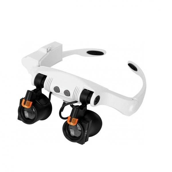 ذره بین عینکی دوچشمی 14 لنز مدل 21-SX |