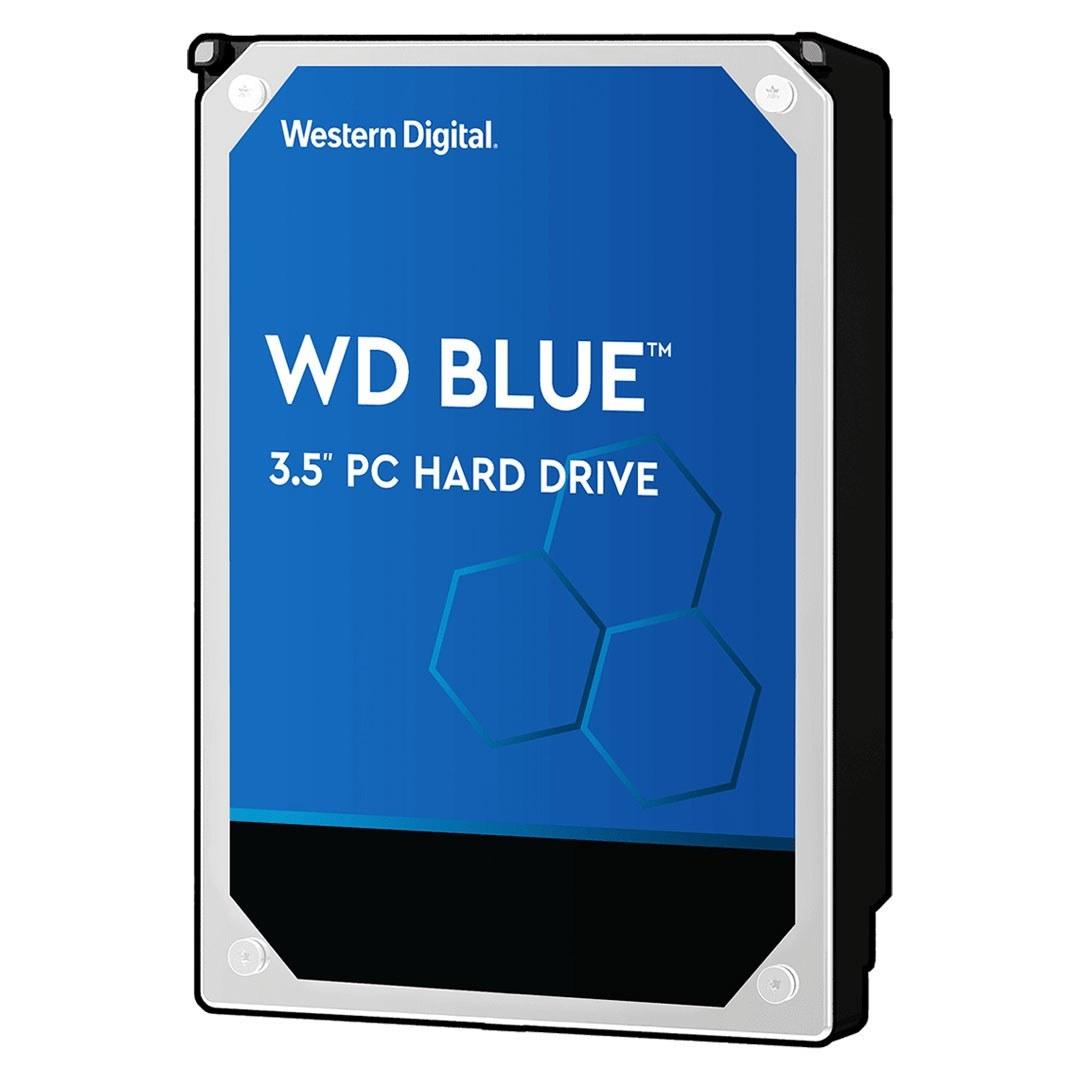 تصویر هارددیسک اینترنال وسترن دیجیتال مدل Blue WD20EZRZ 2TB Western Digital Blue WD20EZRZ Internal Hard Drive 2TB