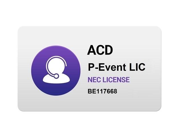 تصویر SL2100 ACD P-EVENT LIC