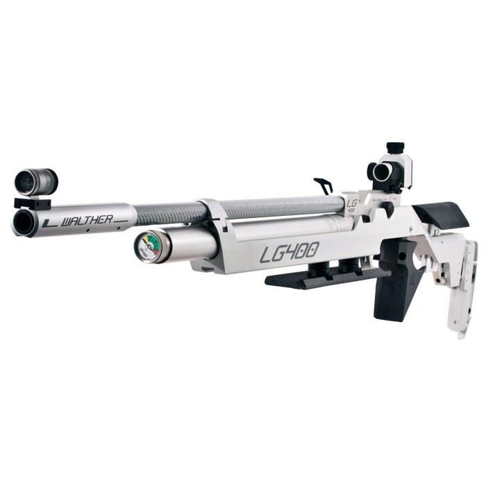 تصویر تفنگ پی سی پی مسابقاتی والتر ال جی 400 آلوتک   Walther LG400 Alutec Competition PCP Air Rifle