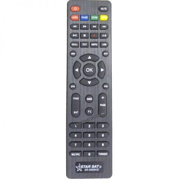 کنترل دستگاه استارست ۶۹۶۹HD-8989HD