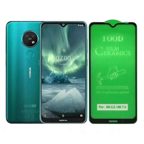 تصویر گلس سرامیکی شفاف نوکیا Nokia 7.2