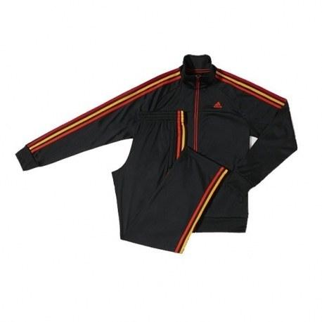ست گرمکن و شلوار آدیداس اسنشالز 3 استرایپس پلی استر Adidas Essentials 3-Stripes Polyester Track Suit M67817